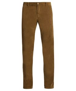 J.W. Brine | Owen Slim-Leg Stretch-Cotton Corduroy Trousers