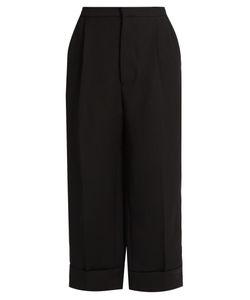 Marni | Straight-Leg Silk And Wool-Blend Trousers