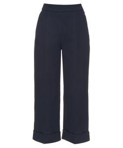 Delpozo | Wide-Leg Cropped Trousers