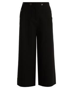 Tibi | Sailor Nerd Wide-Leg Culottes