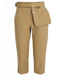 YOHJI YAMAMOTO REGULATION | High-Rise Cropped Trousers