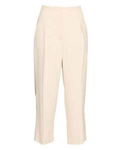 Brunello Cucinelli | Pleat-Front Cropped Crepe Trousers