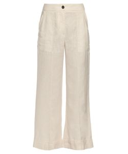 Raquel Allegra | Flared Cropped Trousers