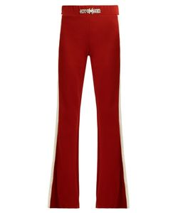 WALES BONNER | Angelo Embellished Fla Wool-Blend Trousers