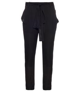 JUAN CARLOS OBANDO | Poolside Tonka Silk-Crepe Trousers