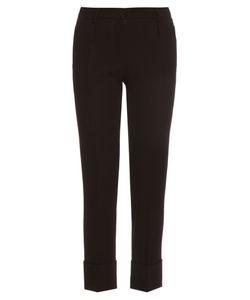 Goat | Cooper Slim-Leg Wool-Crepe Trousers