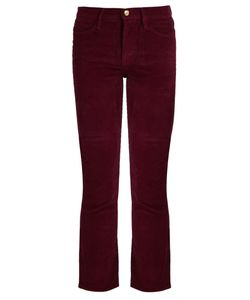 Frame | Le High Straight-Leg Corduroy Trousers