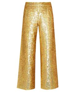 Ashish | Sequin-Embellished Straight-Leg Cotton Trousers