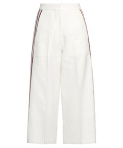 HILLIER BARTLEY | Striped Wide-Leg Track Pants