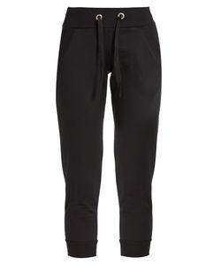 PEPPER & MAYNE | Signature Cropped Cotton-Jersey Sweatpants