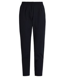OUTDOOR VOICES X A.P.C | High-Rise Slim-Leg Performance Trousers