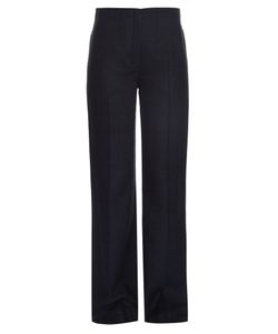 Nina Ricci | Silk-Canvas Wide-Leg Trousers