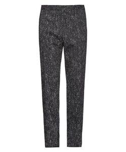 Balenciaga   Melange-Twill City Trousers