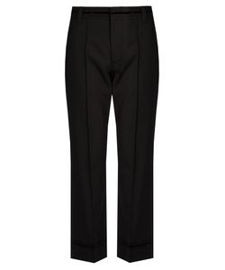 Marc Jacobs | Bowie Mid-Rise Cropped Wool Trousers