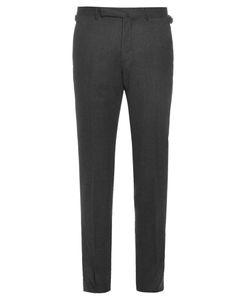 Ermenegildo Zegna | Mid-Rise Slim-Leg Wool Trousers