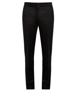Maison Margiela | Straight-Leg Flannel Trousers
