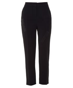 Christopher Kane | Stud-Embellished Crepe Trousers