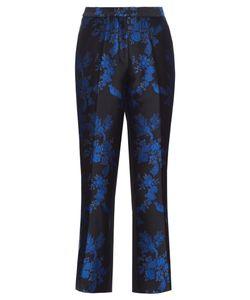 Stella Mccartney | -Brocade Cropped Trousers