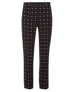Givenchy | Micro Geometric-Print Tailored Trousers