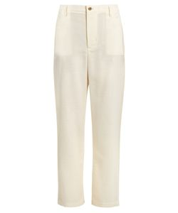 WALES BONNER | Nehisi Wide-Leg Wool Trousers