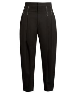 Haider Ackermann | Orbai Dropped-Crotch Wool Trousers