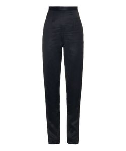 JUAN CARLOS OBANDO | High-Waisted Slim-Leg Trousers