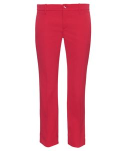 Gucci | Slim Kick-Flare Cropped Stretch-Wool Trousers