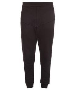 Alexander McQueen | Skull-Appliqué Cotton-Jersey Track Pants