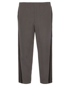 Alexander McQueen | Cropped Relaxed-Leg Crepe Trousers