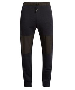 HELBERS | Nylon-Panelled Wool And Cashmere-Blend Track Pants