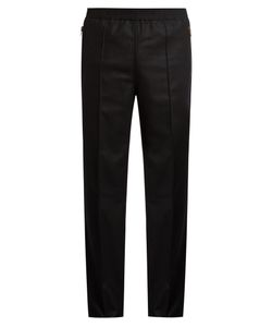 Givenchy | Zip-Pocket Slim-Leg Wool Track Pants