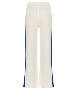 ZEUS + DIONE   Alcyone Silk-Crepe Wide-Leg Trousers