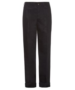 MAFALDA VON HESSEN | Wide-Leg Cotton-Blend Trousers
