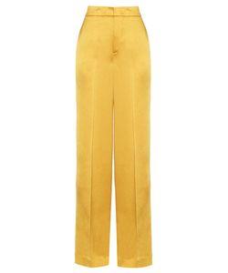 Etro | Wide-Leg Crepe De Chine Trousers