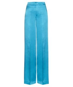Etro | Wide-Leg Crepe De Chine Trousers