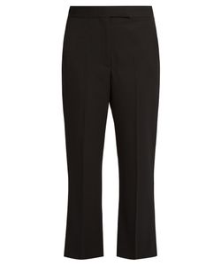 Alexander McQueen | Kick-Flare Cropped Tailored Trousers
