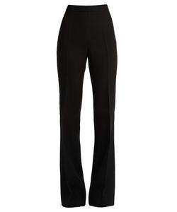 Giambattista Valli | High-Waisted Flared Crepe Trousers