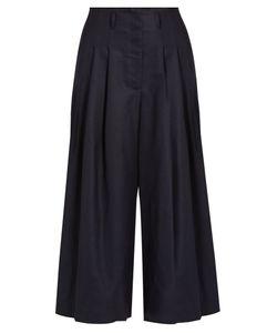 Sea | High-Rise Wide-Leg Wool Trousers