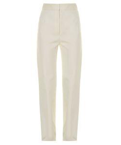 The Row | Osborne Wide-Leg Stretch-Crepe Trousers