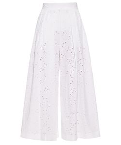 Stella Jean | Broderie-Anglaise Culottes