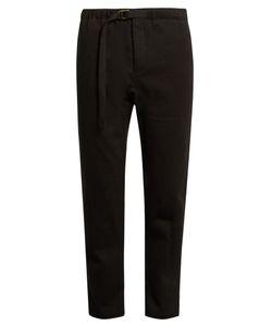 Fanmail | Drawstring-Waist Hemp And Cotton-Blend Trousers