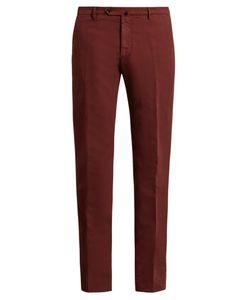 Incotex | Slim-Leg Stretch-Cotton Chino Trousers