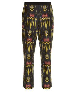 Etro | -Print Cotton-Blend Cropped Trousers