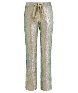 Rosie Assoulin   Slim-Leg Sequin-Embellished Trousers