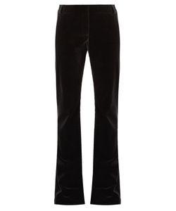 RAEY | Flared Velvet Trousers