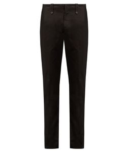 Maison Margiela | Slim-Fit Cotton-Drill Trousers