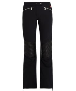 TONI SAILER | Carla Leather-Paneled Flared Ski Trousers