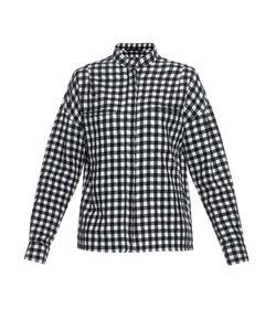 Haider Ackermann | Plaid Wool And Linen-Blend Shirt