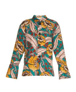 Marni | Bellwoods-Print Cotton And Linen-Blend Jacket
