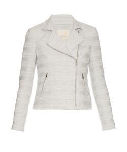 Rebecca Taylor | Cotton-Blend Tweed Biker Jacket
